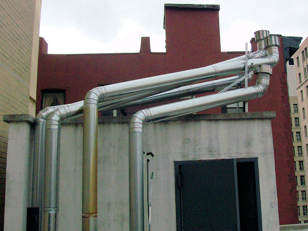 Commercial Chimney Extension Chimney Repair New York
