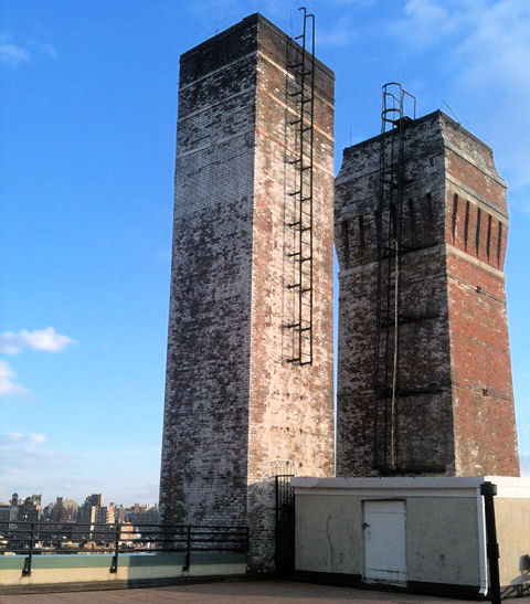 Commercial Chimney Stack Chimney Repair New York