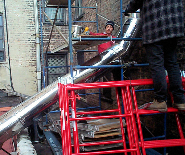 Commercial Metal Stack Repair Chimney Repair New York