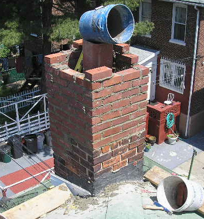 Rebuild Chimney Chimney Repair New York