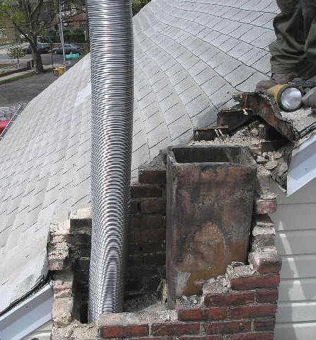 Chimney Lining Long Island Professional Chimney Flue Lining Installation Repair And