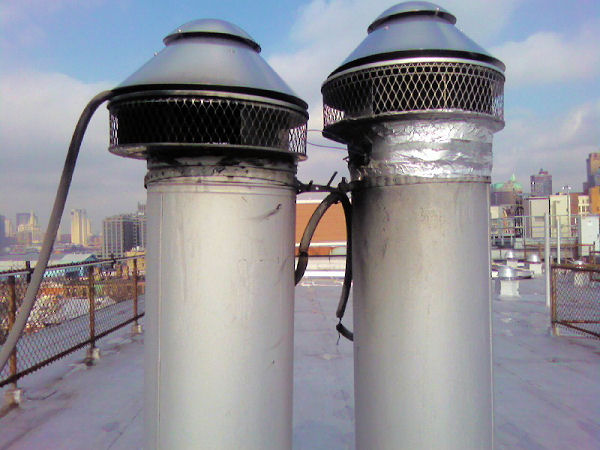 Commercial Chimney Exhaust Pipe Suffolk County